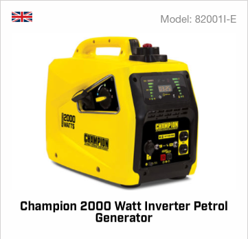 Champion 2000 Watt inverter Petrol