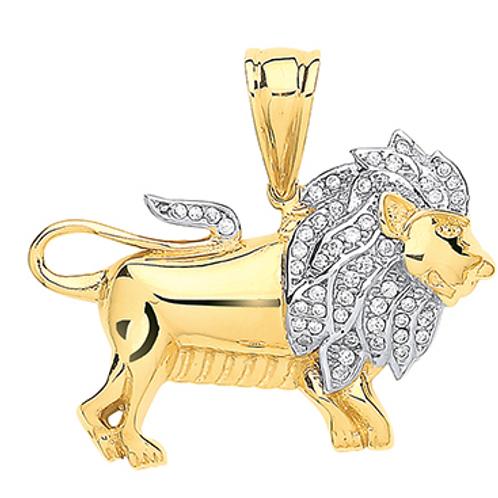 Gold Lion Pendandt