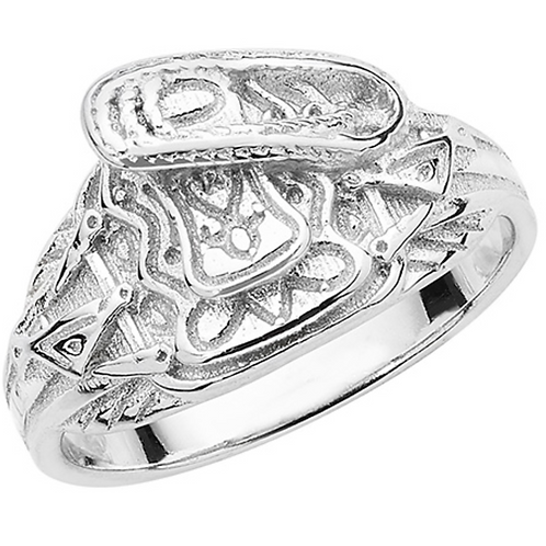 Children silver saddle ring