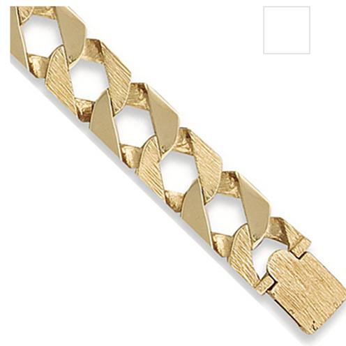 Gold Bark Bracelet