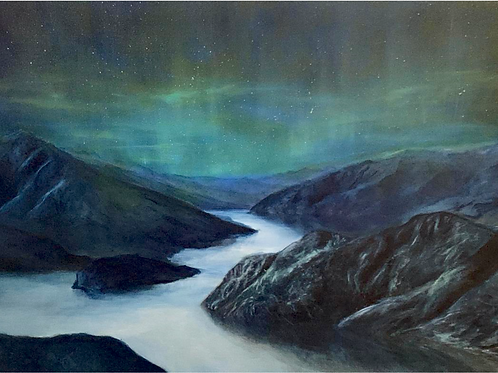 Another Realm - Original Oil Painting