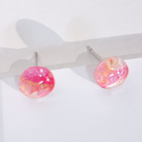 Pink Earrings - Small