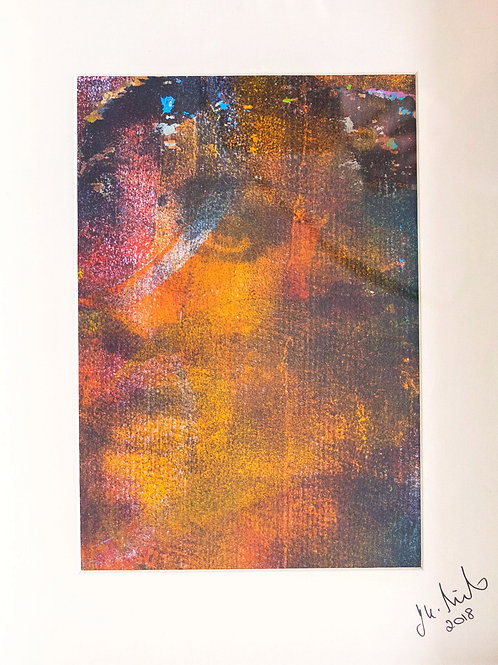 Hidden in Sight- Original Monoprint
