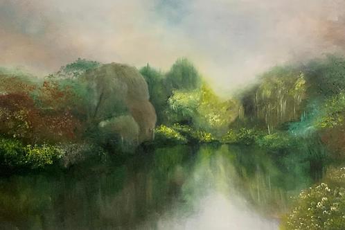 Avon River I - Original Oil Painting