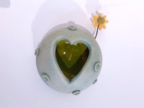 Green Planet - Ceramic Artwork