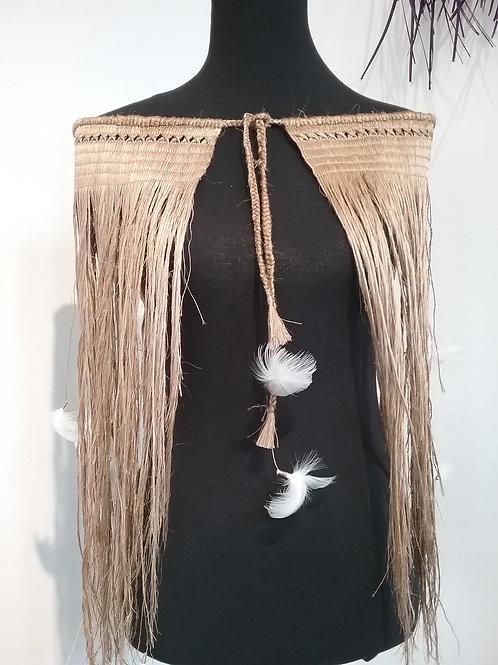 Traditional Woven Harakeke Cloak - Hine Whakapiwari