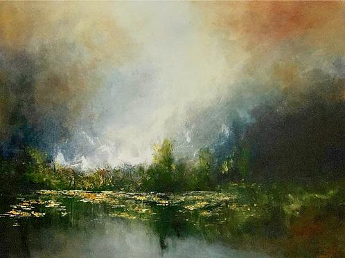 Language of Silence - Original Oil Painting