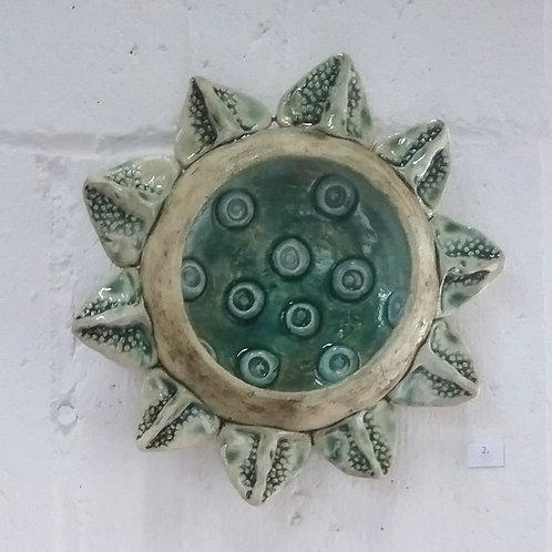 Green Pod - Original Ceramic Artwork