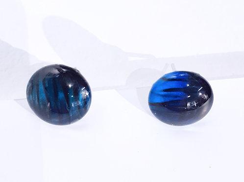 Blue Earrings - Large
