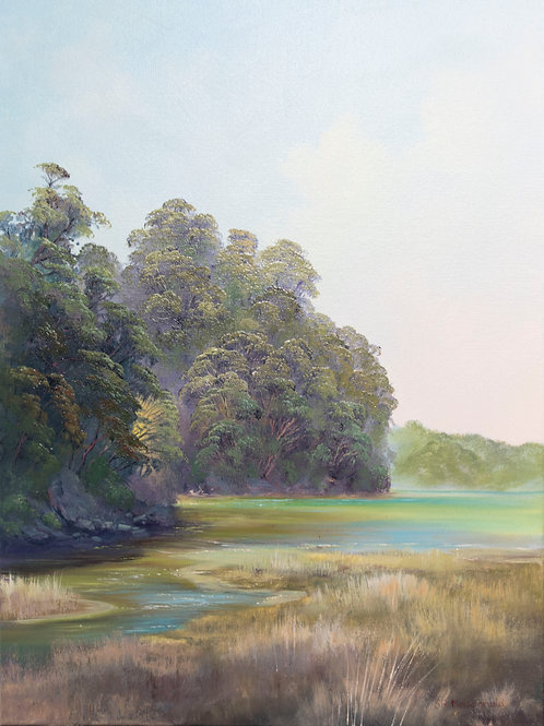 Torrent Bay - Original Oil Painting