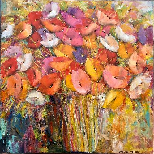 Poppies - Original Oil Painting