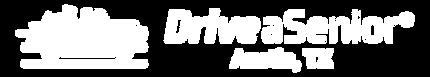 Drive a Senior Logo Library_White Horz R