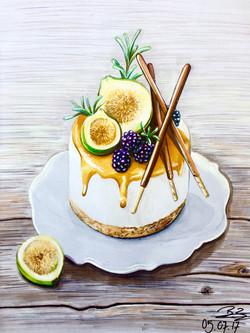 Gourmet-Illustration (Filzstift)
