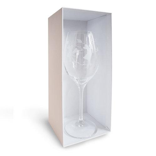 Weissweinglas Elfe