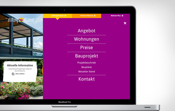 Pension Obersee Webdesign