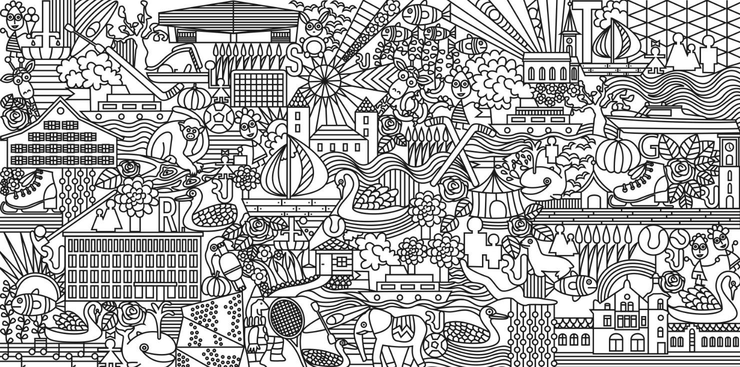 Illustration Rapperswil-Jona (Expo)