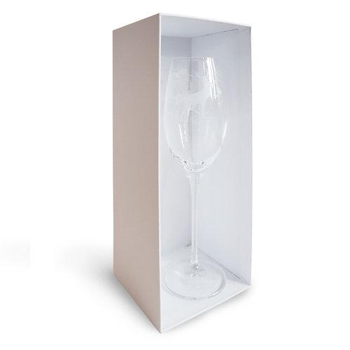 Champagnerglas Hirsch