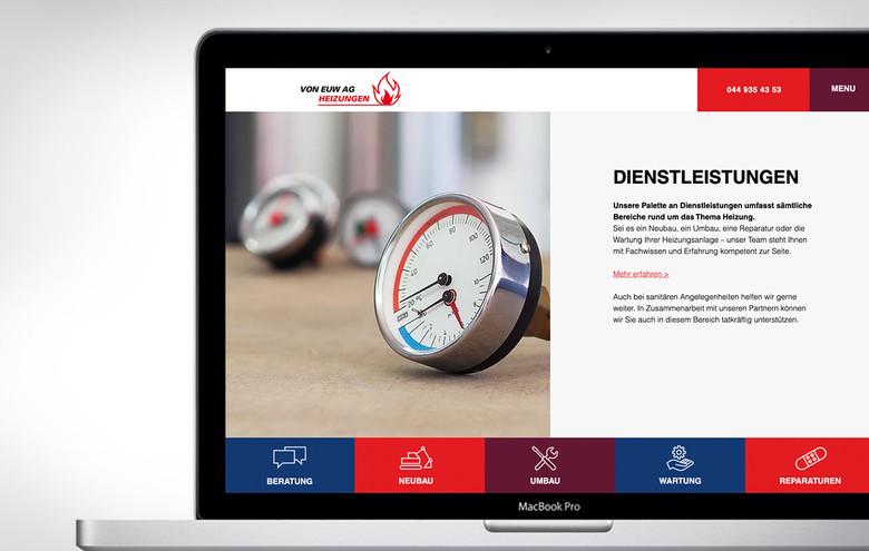 Webdesign Von Euw AG