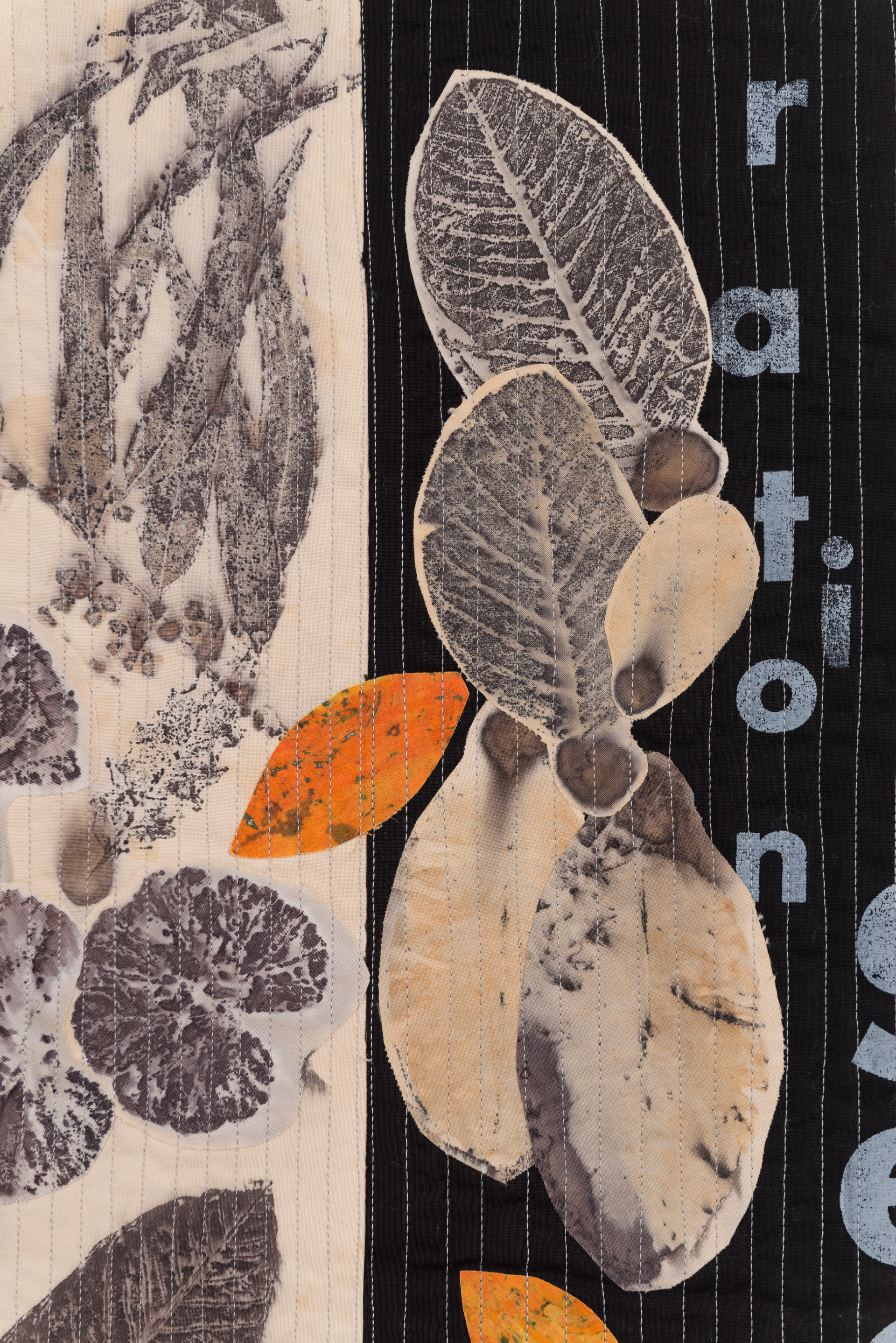 Falling leaves detail