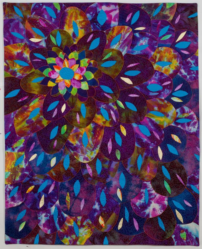 Dalia in purple