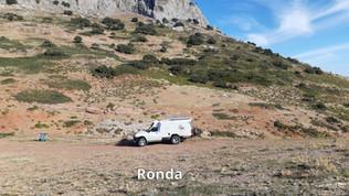 Bivouac dans les montagnes de Ronda
