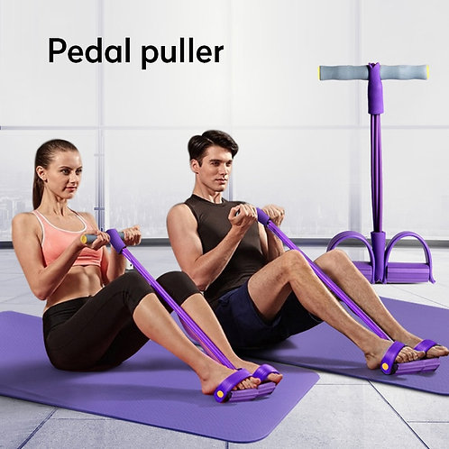 Indoor Fitness Resistance Bands Exercise