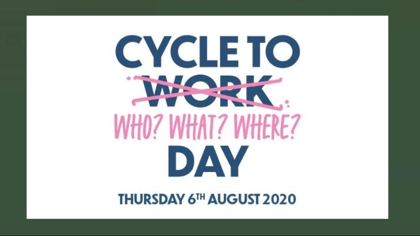 cycle anywhere 6th Aug