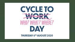 cycle anywhere 6th Aug
