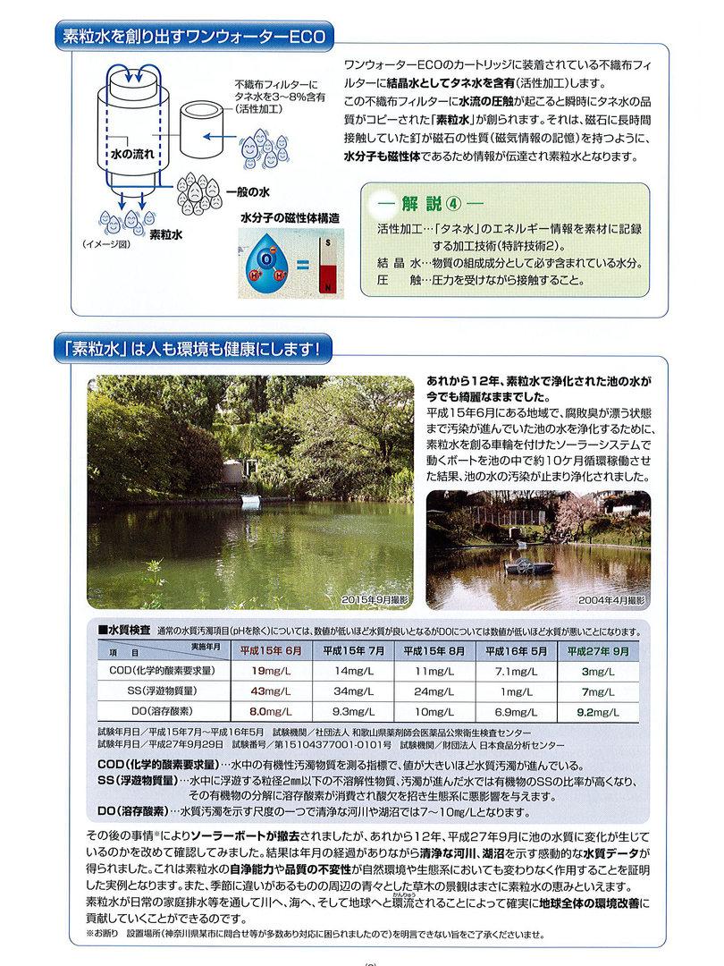ワンウォーターECO(浄水器)