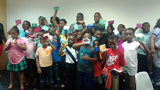 A.N.F. students at the afterschool program