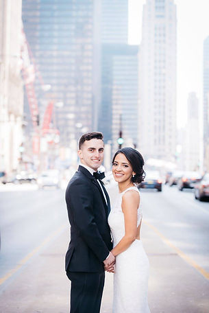 chicago wedding Michigan Ave