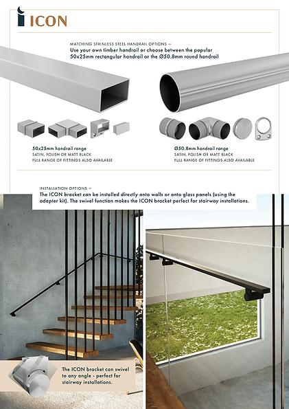Pacific Glass Balustrades   Handrail