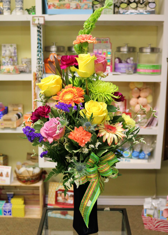 Mixed Roses, Gerbers, Carnations