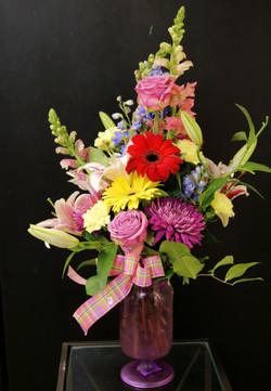 Roses, Chrysanthemum, Gerbers