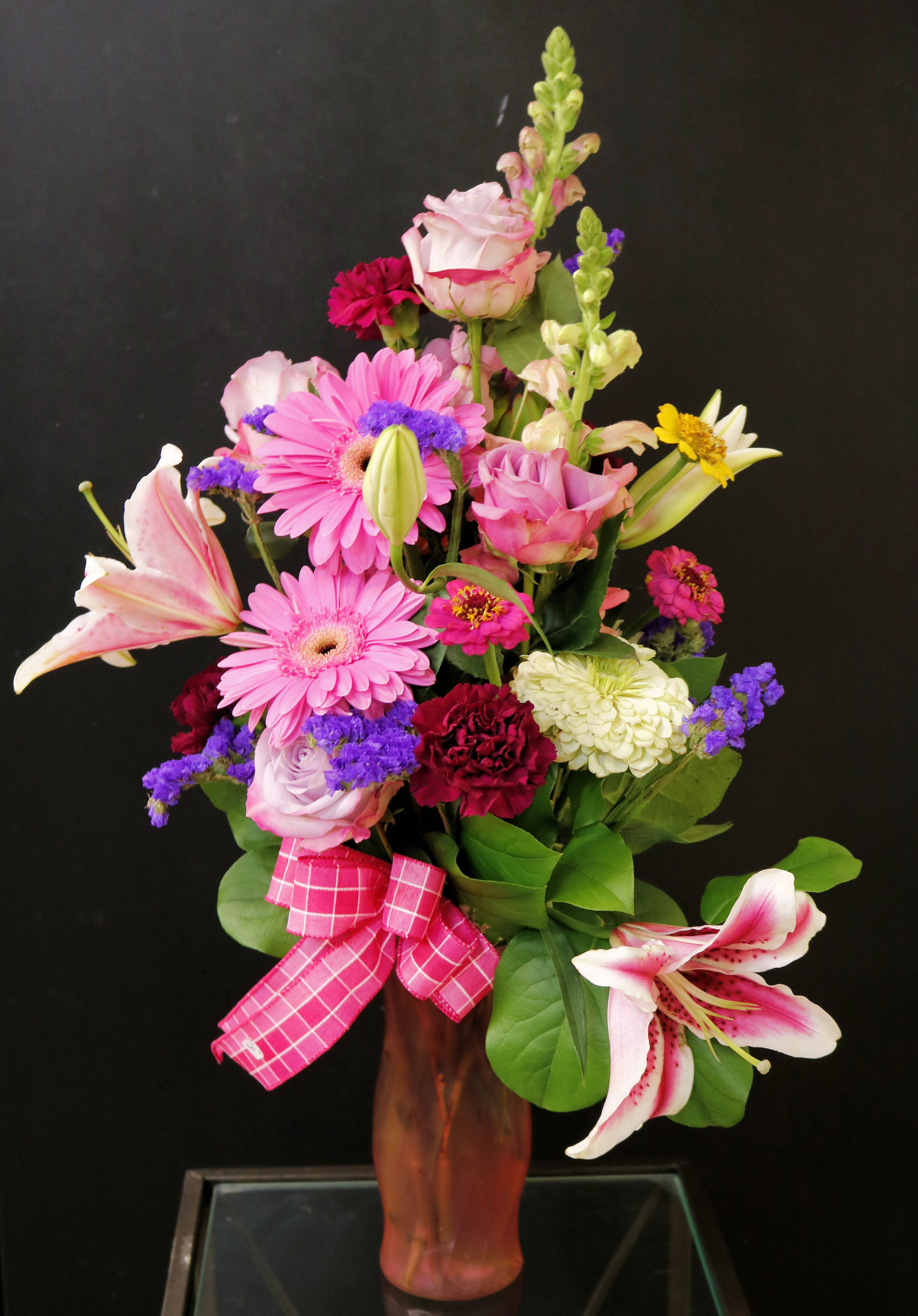 Lillies, Gerbers, Carnations