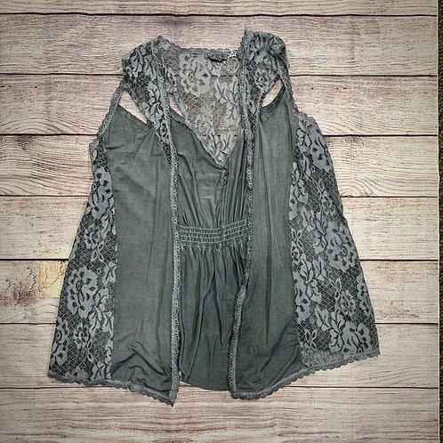 POL Gray Vest
