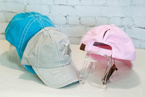 CC Ponytail Caps