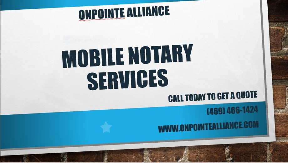 Mobile Services Available NOW!
