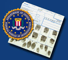 FBI Applicant Fingerprint Cards FD 258 (Ink Fingerprinting)