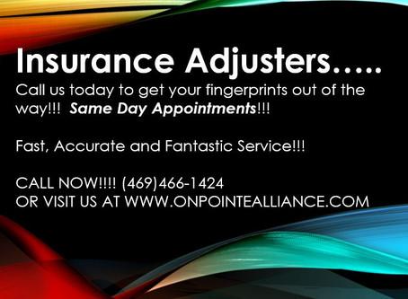 Insurance Adjusters