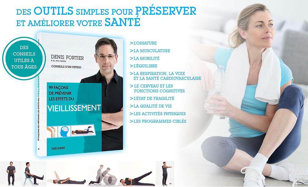 Les conseils du physiothérapeute Denis Fortier concernant la capsulite rétractile de l'épaule