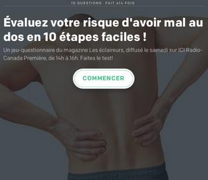 Un jeu questionnaire du physiothérapeute Denis Fortier