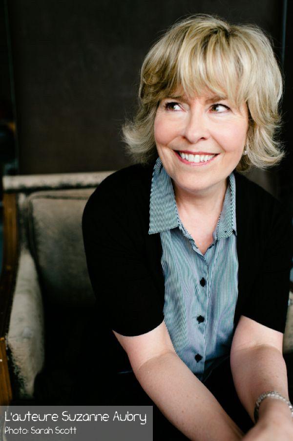 L'auteure Suzanne Aubry [Libre Expression]
