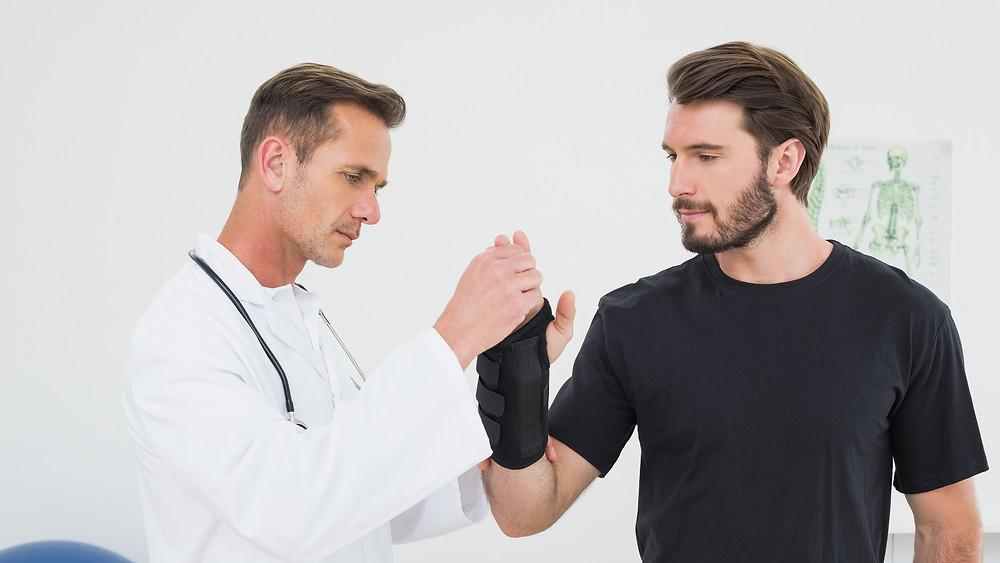 Conseils d'un physio: les séquelles d'une blessure au poignet