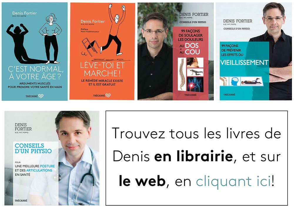 L'auteur et physiothérapeute Denis Fortier