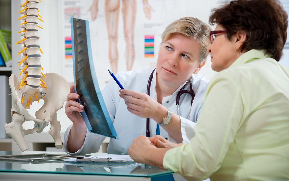 Conseils d'un physio : radiographie et lordose lombaire