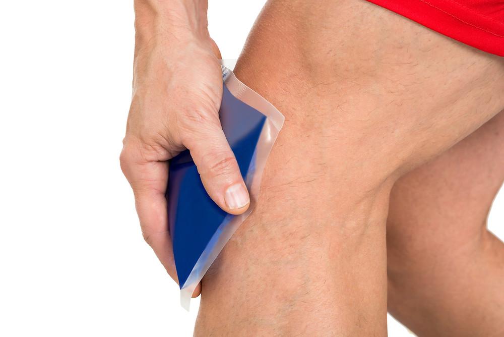 Conseils du physiothérapeute Denis Fortier sur l'application de la glace à des fins thérapeutiques