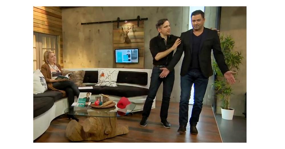 Le phytothérapeute Denis Fortier à l'émission Trucs et cie, à V Télé.