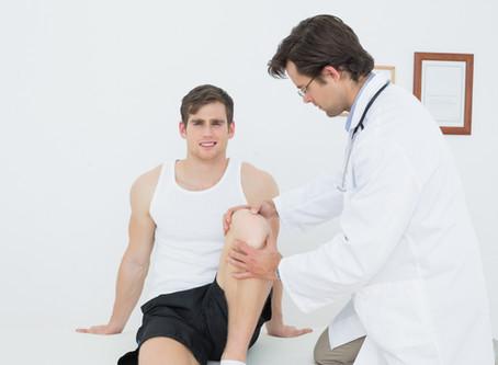 Entorse au genou: conseils et exercices