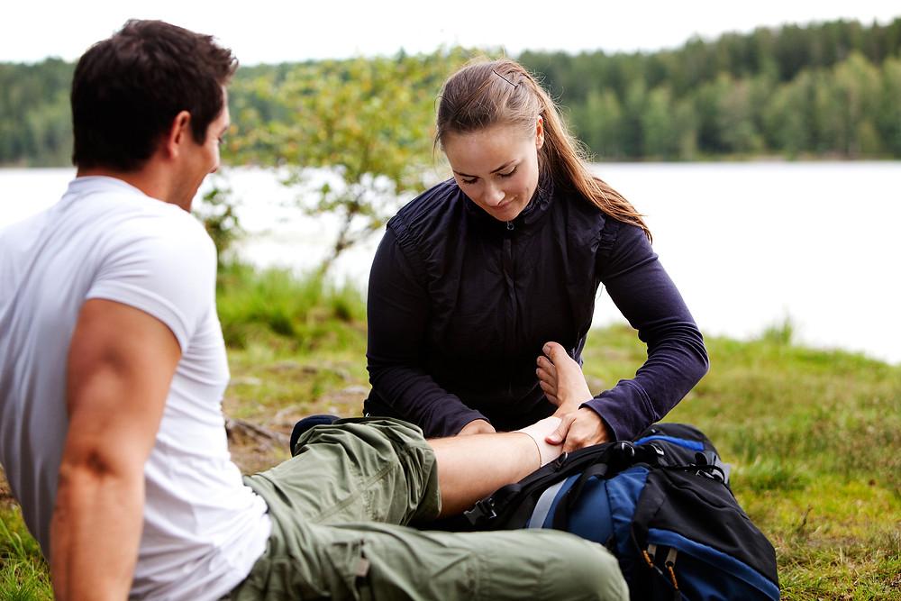 Conseils d'un physio: le bandage élastique